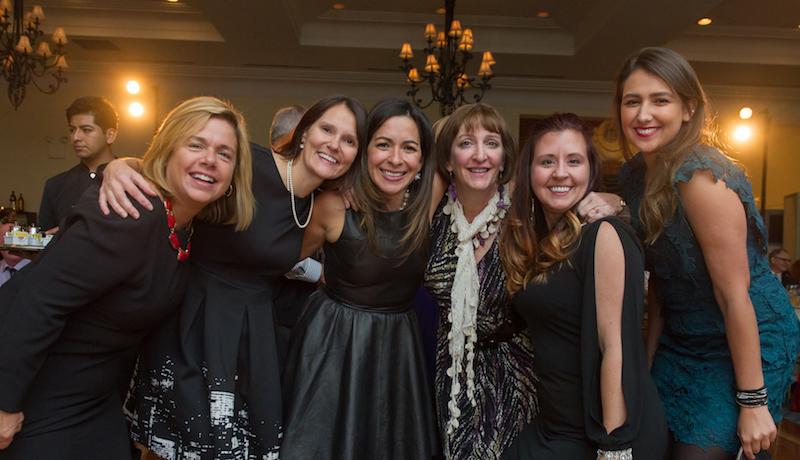 The ladies of Supporting Sponsor Sanofi Pasteur