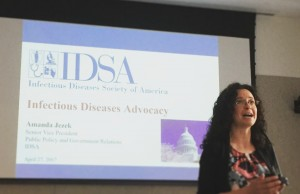 IDSA's Amanda Jezek on Federal Lobbying